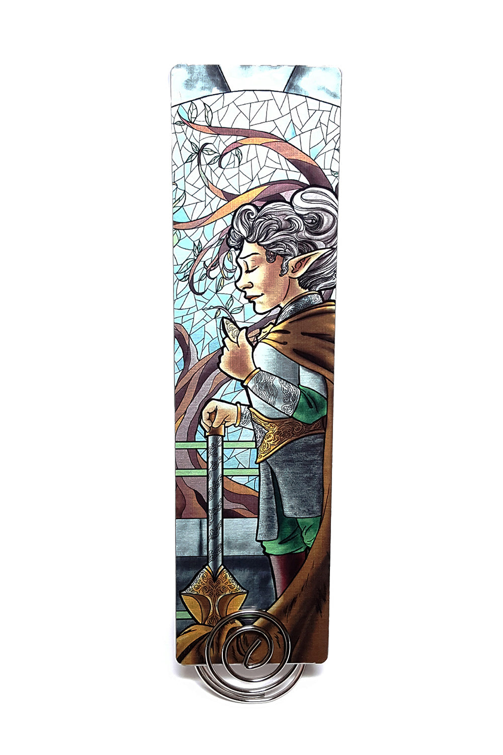 La Clerc - The Cleric Metal Bookmark