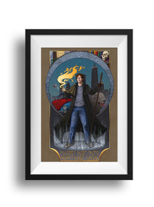 Dresden Files - Conjure By It At Your Own Risk - Print