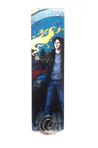 Conjure By It At Your Own Risk - Harry Dresden Metal Bookmark