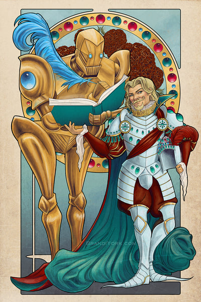 Critical Role - Doty, Take This Down - Print