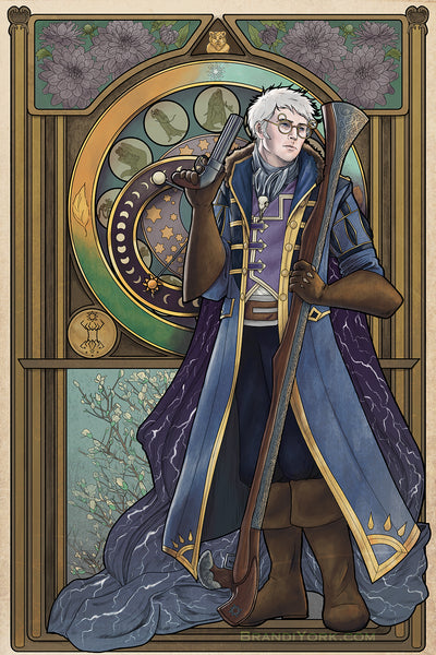 Critical Role - Earn Your Life Again - Percy de Rolo Print