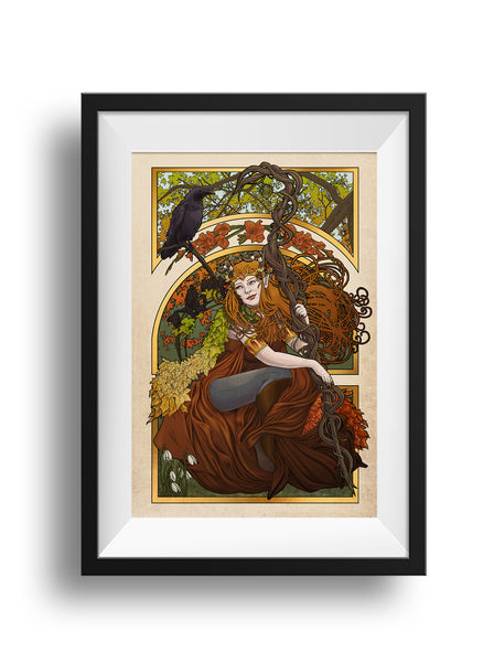 Critical Role - All Of These Things I've Learned - Keyleth Print