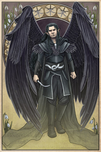 Critical Role - And I Walk Away - Vax'ildan Print