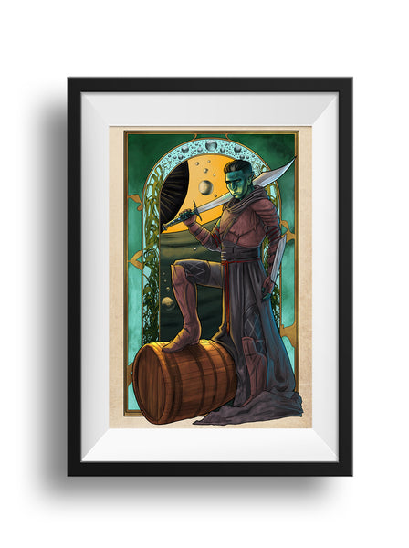 Critical Role - Blade of the Deeps - Fjord Print