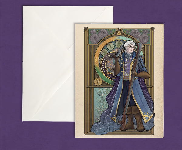 Critical Role - Vox Machina - Earn Your Life Again - Percy de Rolo Greeting Card