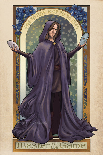 Critical Role - Master of the Game - Matthew Mercer Print