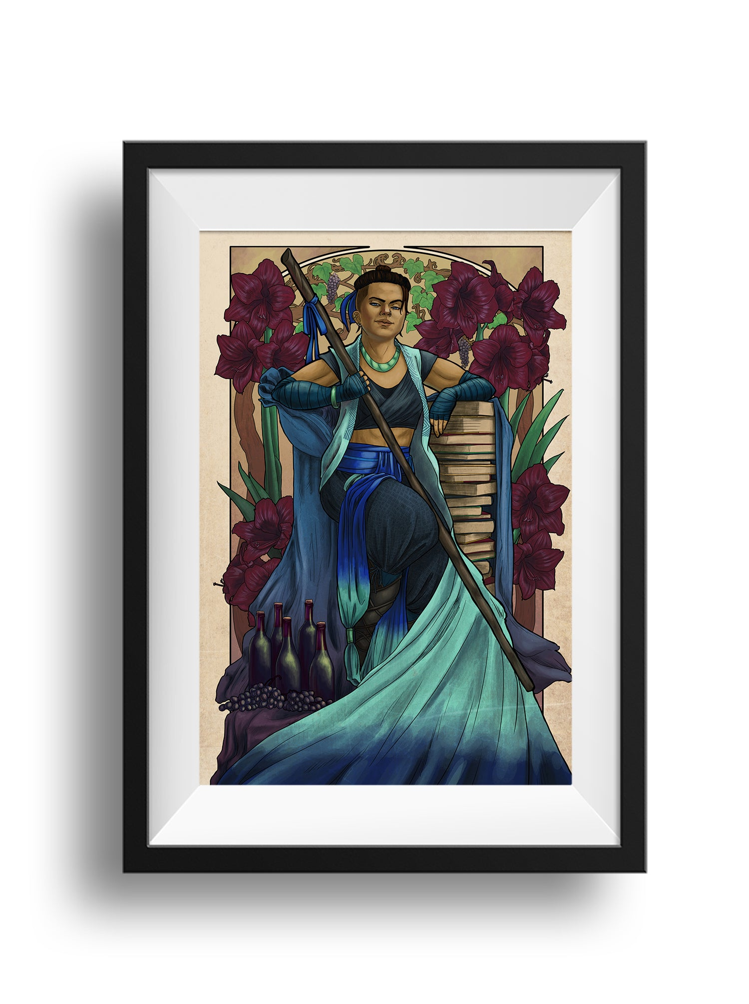 Critical Role - Pride and Disaster - Beauregard Print