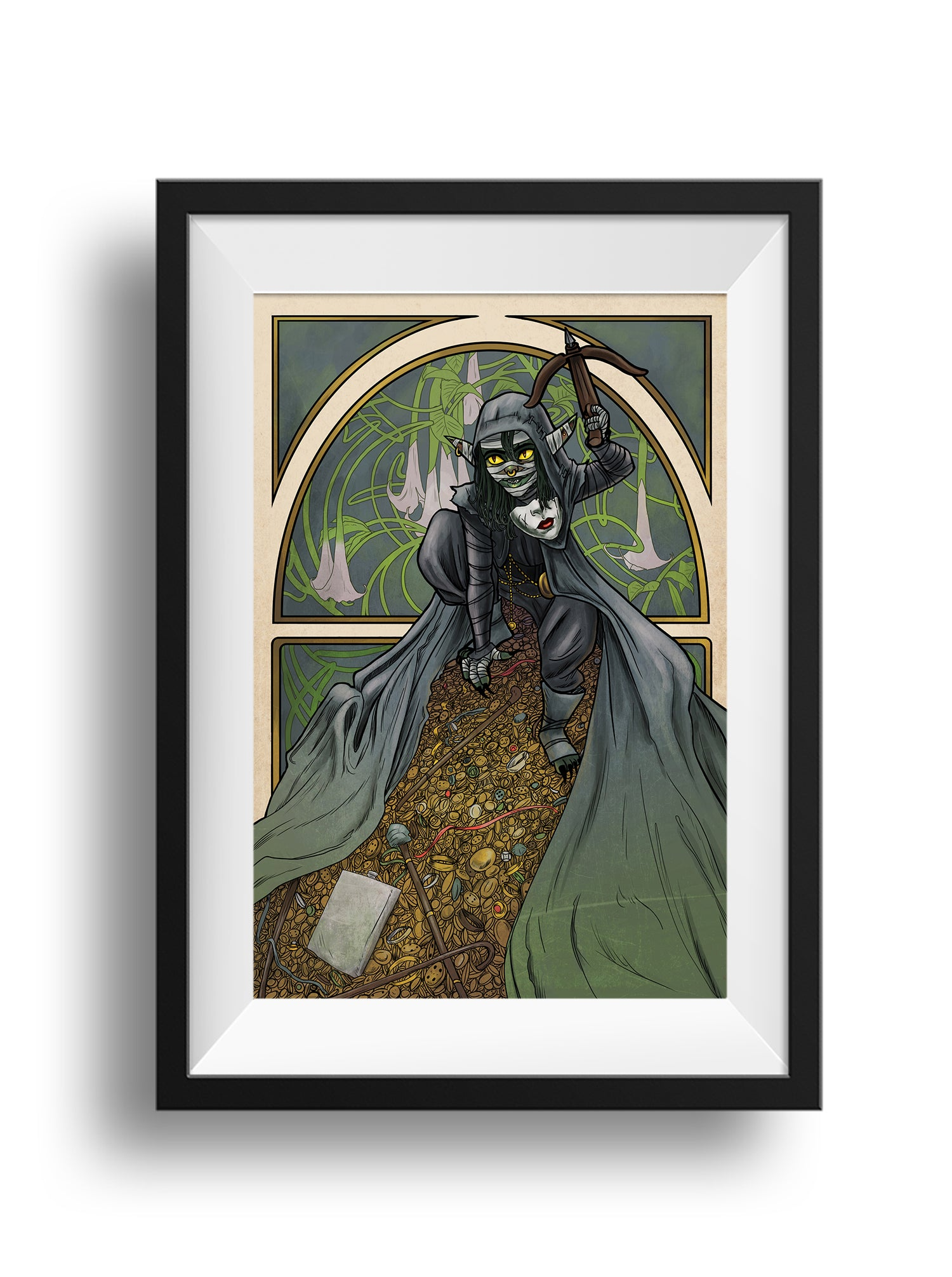 Critical Role - Sugar and Spice and Shinies - Nott the Brave Print