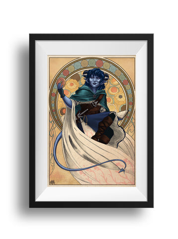 Critical Role - Sunshine Lollipops and Rainbows - Jester Print
