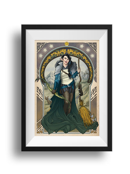Critical Role - The Only Way to Really Grow - Vex'ahlia Print