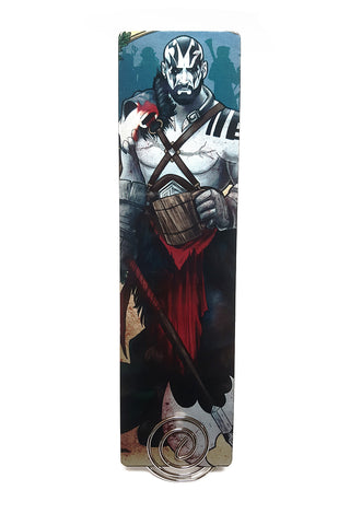 Critical Role - My Strength Is In My Friends - Grog Metal Bookmark