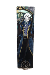 Critical Role - Earn Your Life Again - Percy Metal Bookmark