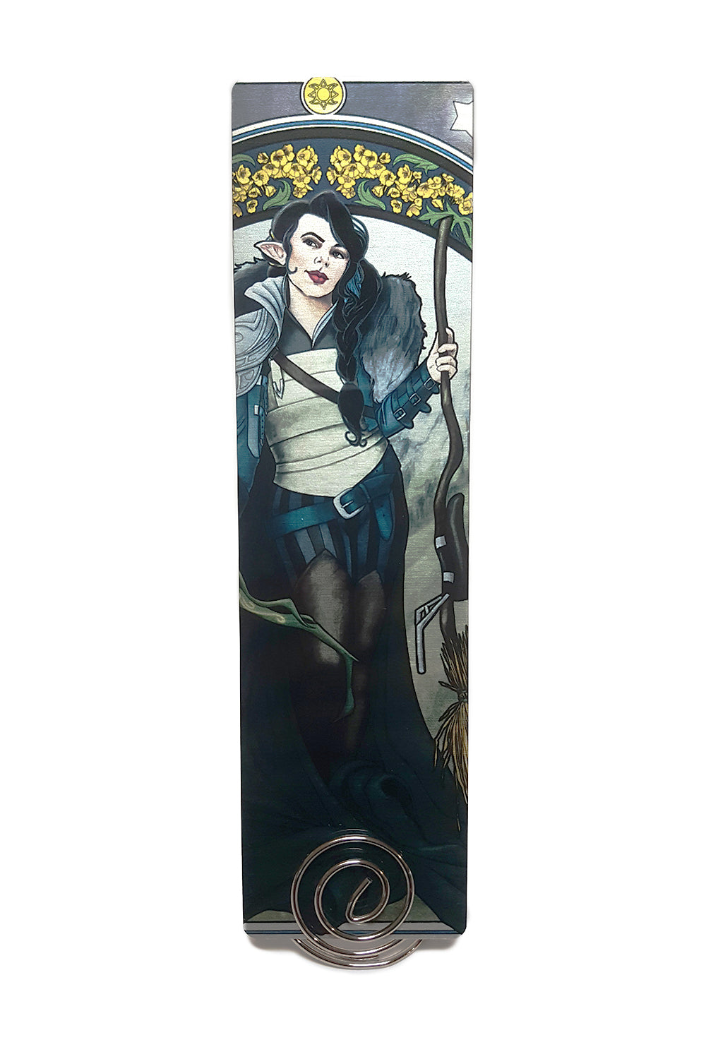 Critical Role - The Only Way to Really Grow - Vex'ahlia Metal Bookmark