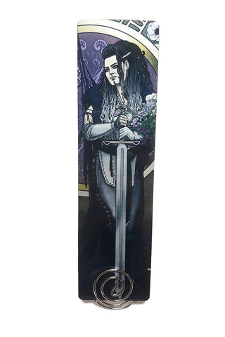 Critical Role - Forsaken - Yasha Metal Bookmark