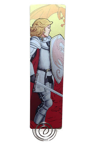 La Combattante - The Fighter Metal Bookmark