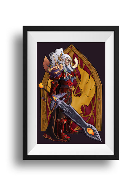 World of Warcraft - For the Good of My People - Print