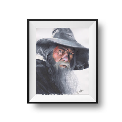 The Gray Wizard - Print
