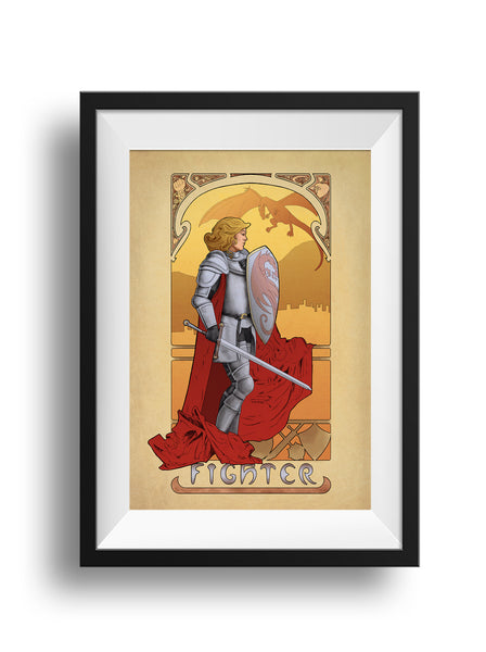 La Combattante - The Fighter - Print