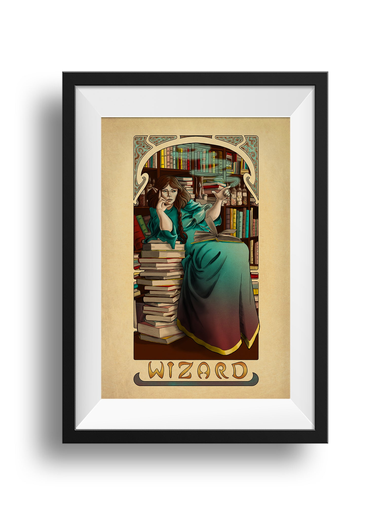 La Magicien - The Wizard - Print