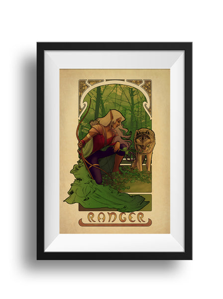 La Rôdeur - The Ranger - Print