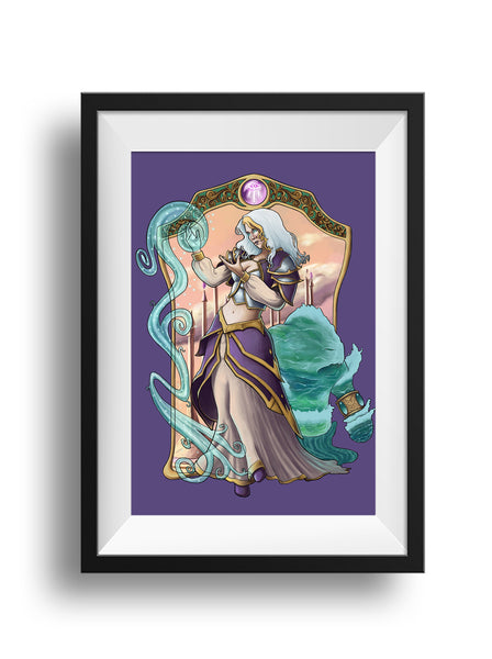 World of Warcraft - Lady of Theramore - Print