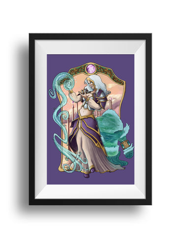 Lady of Theramore - Print