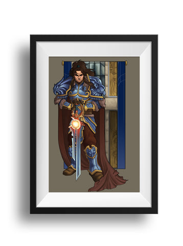 World of Warcraft - Lion of the Alliance - Print