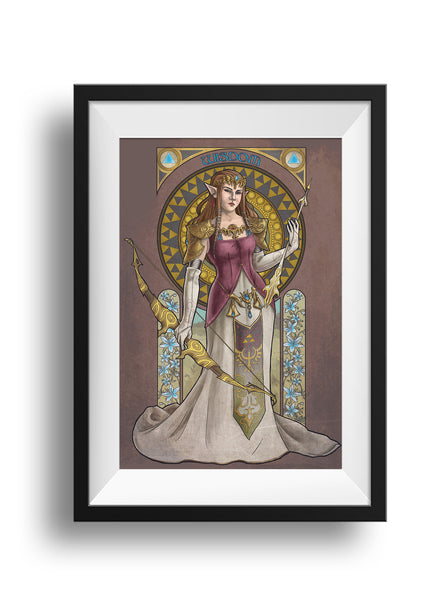 Legend of Zelda - Wisdom - Princess Zelda Print