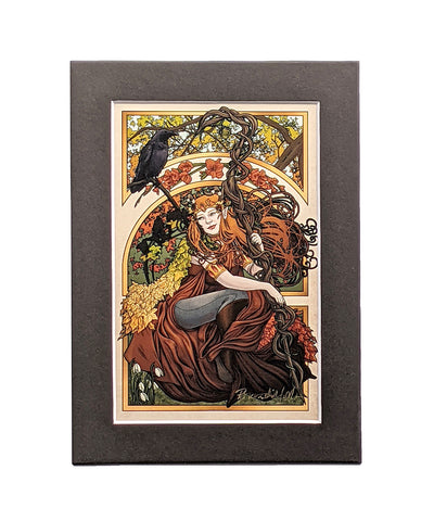 Critical Role - All Of These Things I've Learned - Keyleth Matted Mini Print