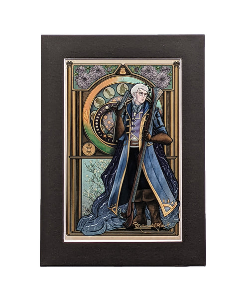 Critical Role - Earn Your Life Again - Percy de Rolo Matted Mini Print