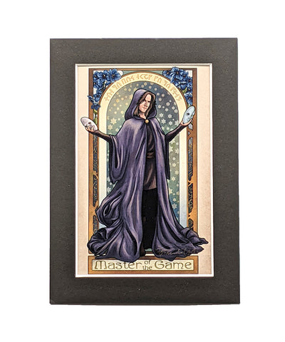 Critical Role - Master of the Game - Matthew Mercer Matted Mini Print