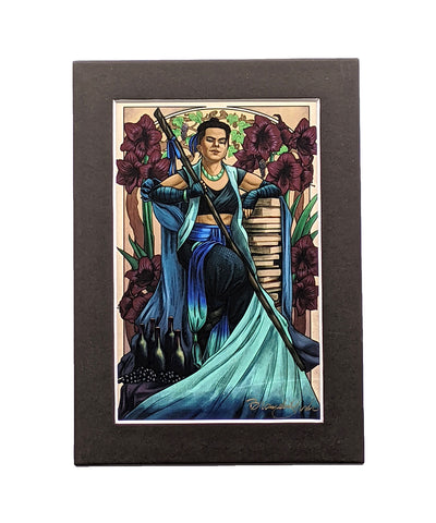 Critical Role - Pride and Disaster - Beauregard Matted Mini Print