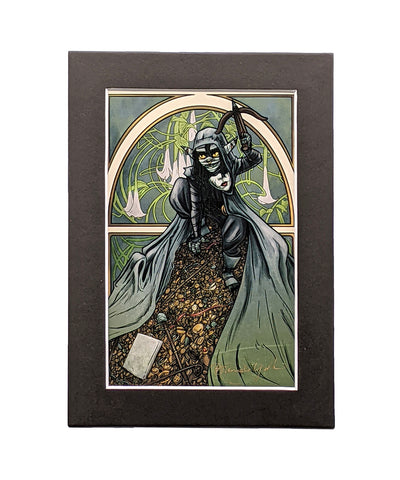Critical Role - Sugar and Spice and Shinies - Nott the Brave Matted Mini Print