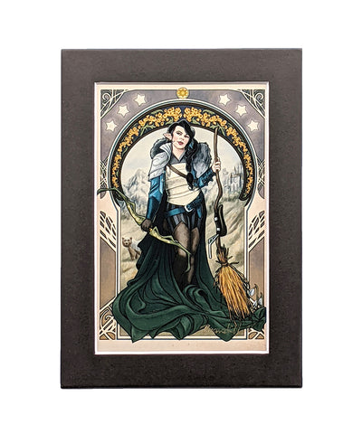 Critical Role - The Only Way To Really Grow - Vex'ahlia Matted Mini Print