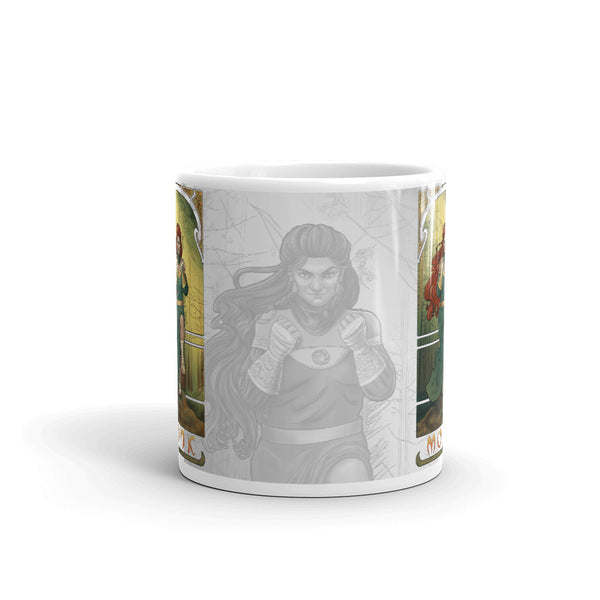 La Moine - The Monk White Mug