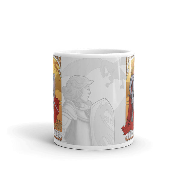 La Combattante - The Fighter White Mug