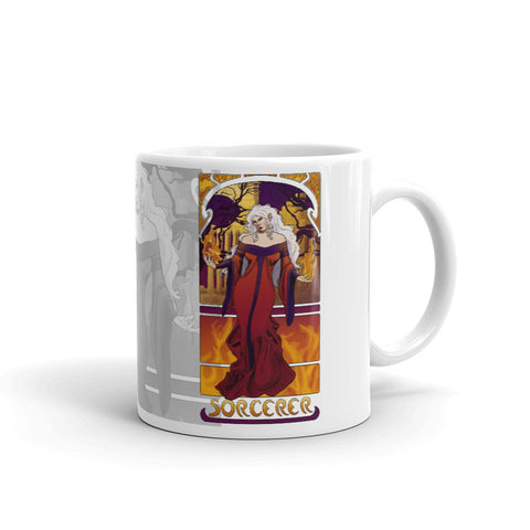 L'Ensorcelleur - The Sorcerer White Mug