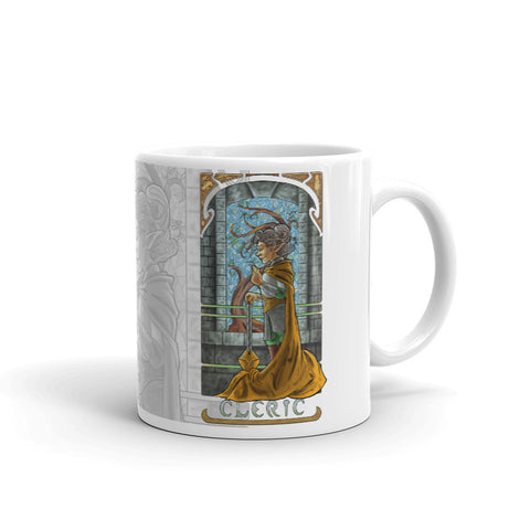 La Clerc - The Cleric White Mug