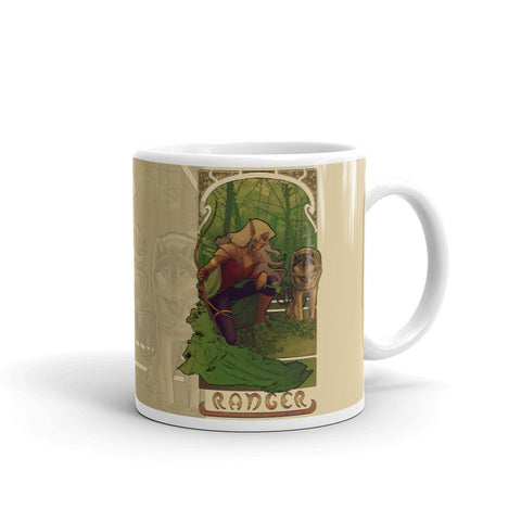 La Rôdeur - The Ranger Cream Mug