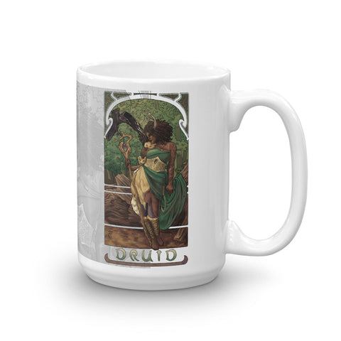 La Druide - The Druid White Mug