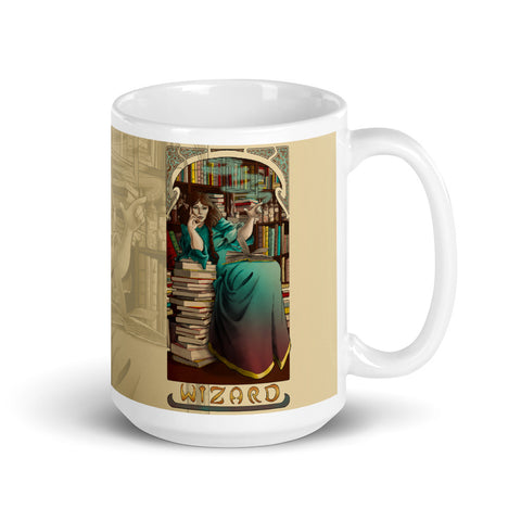 La Magicien - The Wizard Cream Mug