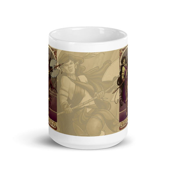 La Barbare - The Barbarian Cream Mug