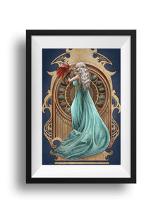 Mother of Dragons - Print