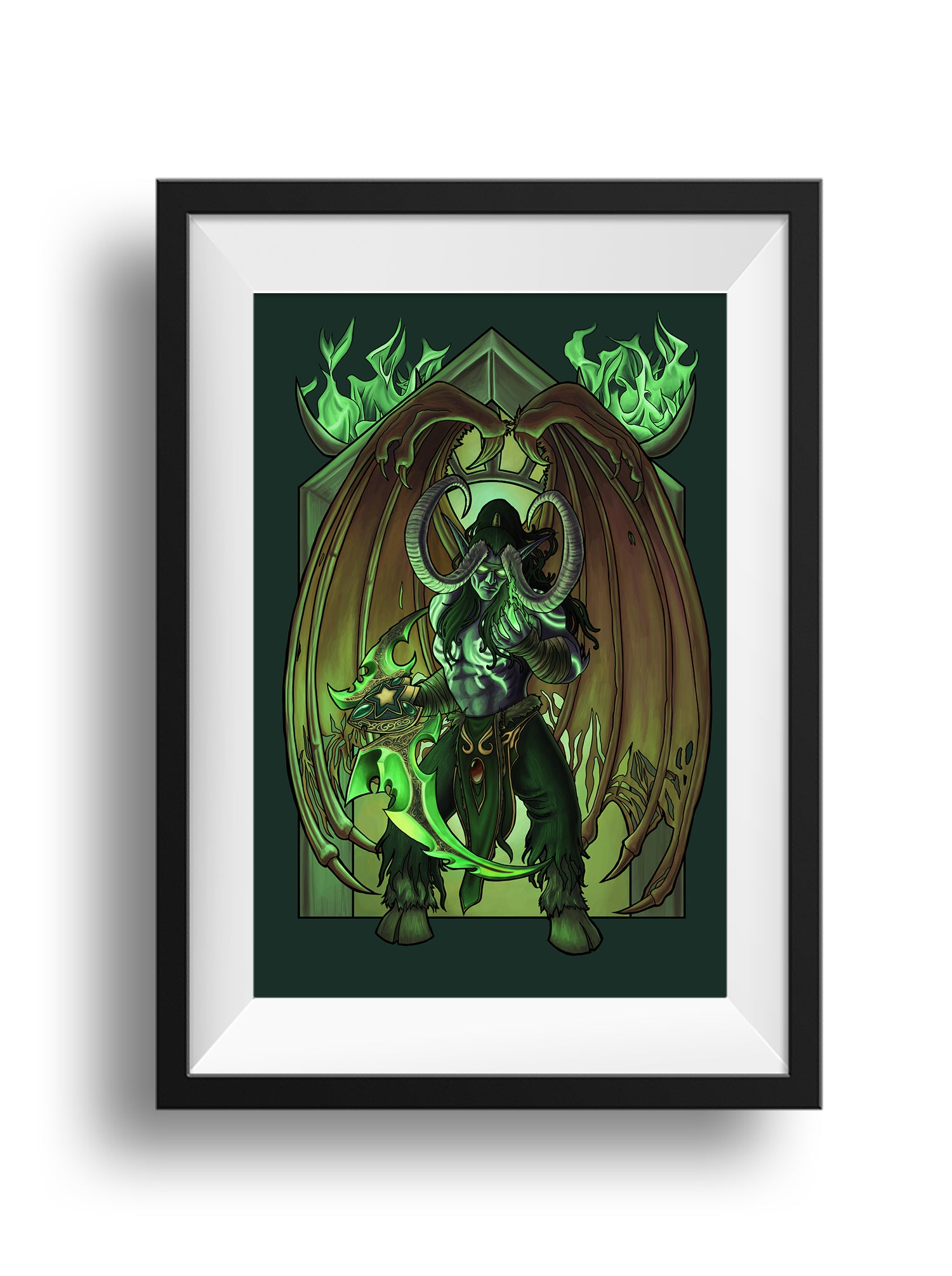 World of Warcraft - No Sacrifice Too Great - Print