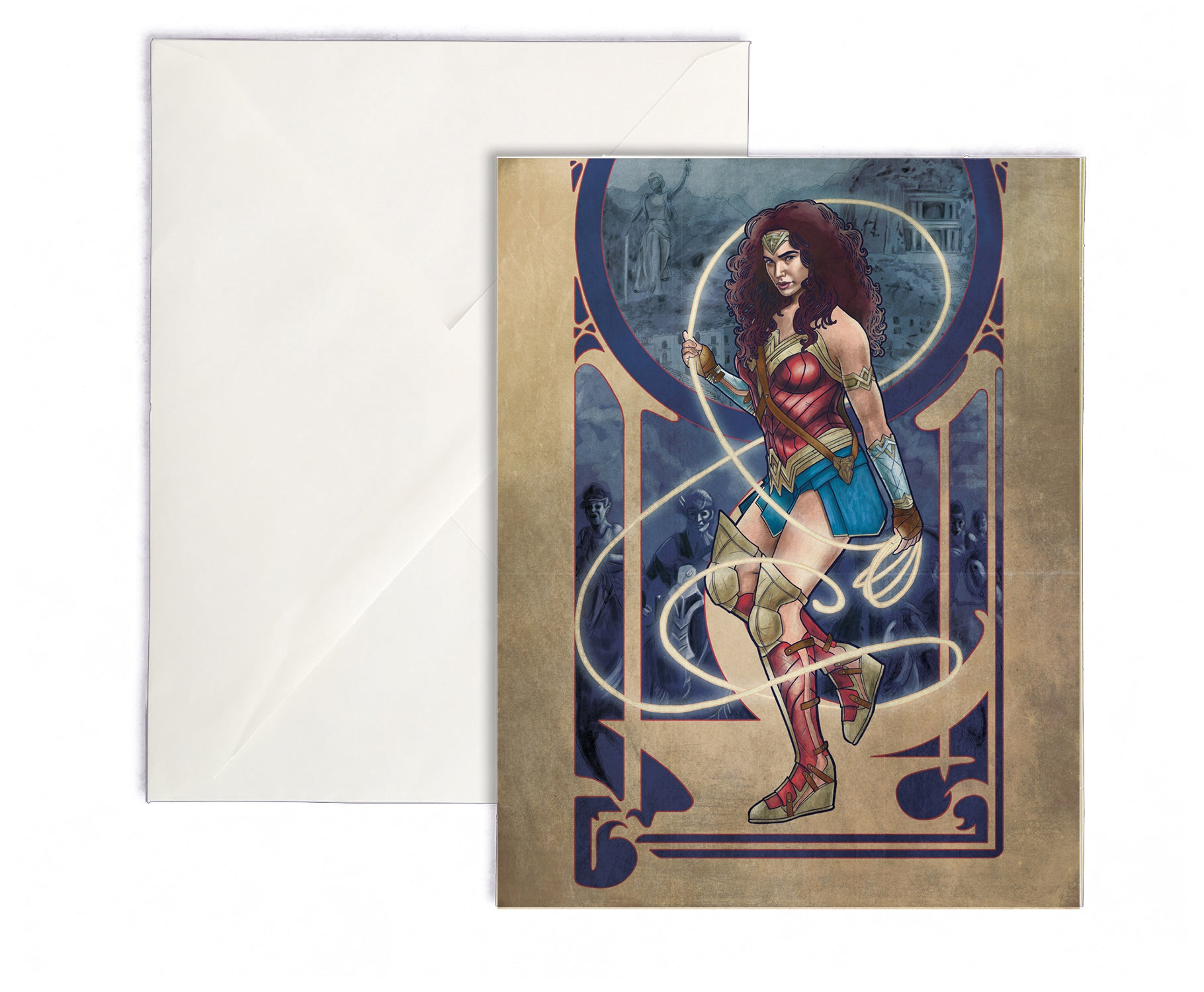 Woman of Wonder - Wonder Woman Greeting Card