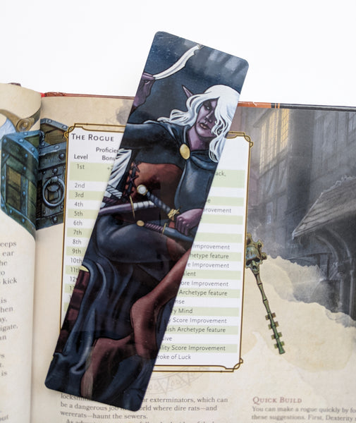 La Roublarde - The Rogue Metal Bookmark