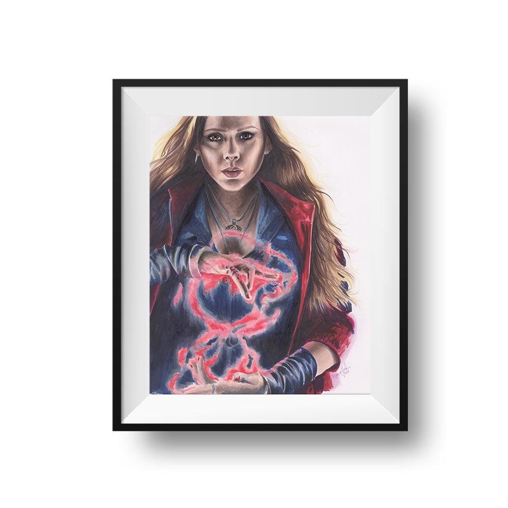 Scarlet Witch - Print