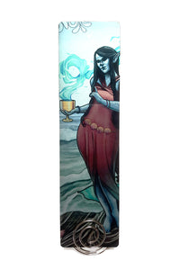 Tabletop Tarot - Queen of Cups Metal Bookmark