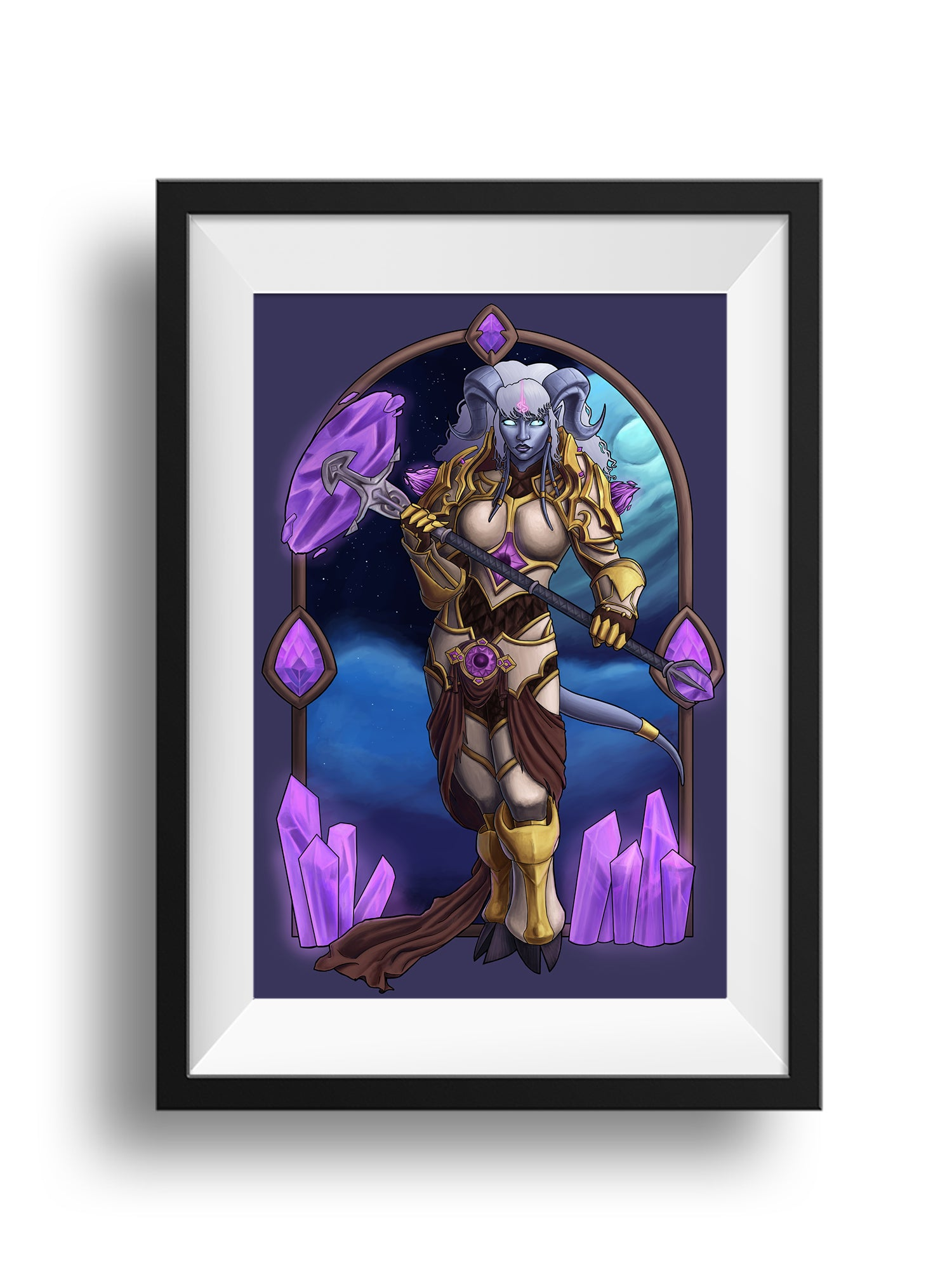 World of Warcraft - Will Is my Weapon - Print