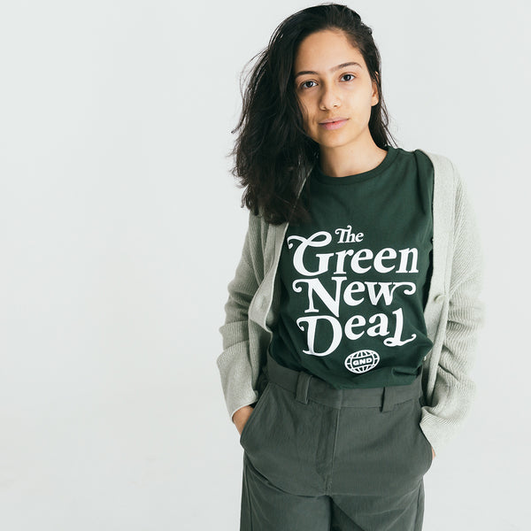 Forest Green New Deal Tee (Unisex)